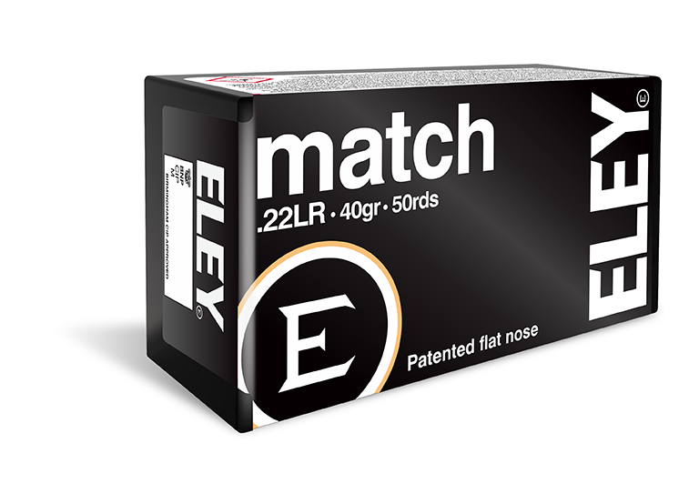 ELEY match ammunition rebate